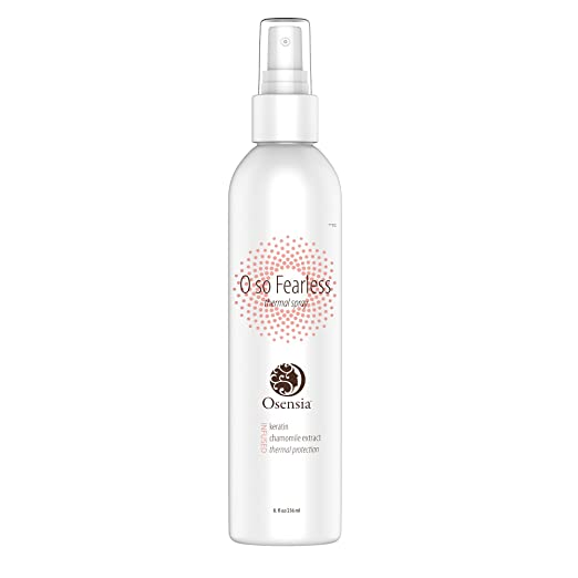 osensia fearless thermal hair spray