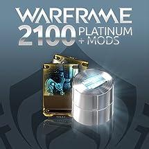 Amazon com: Warframe: 2100 Platinum + Dual Rare Mods - PS4 [Digital