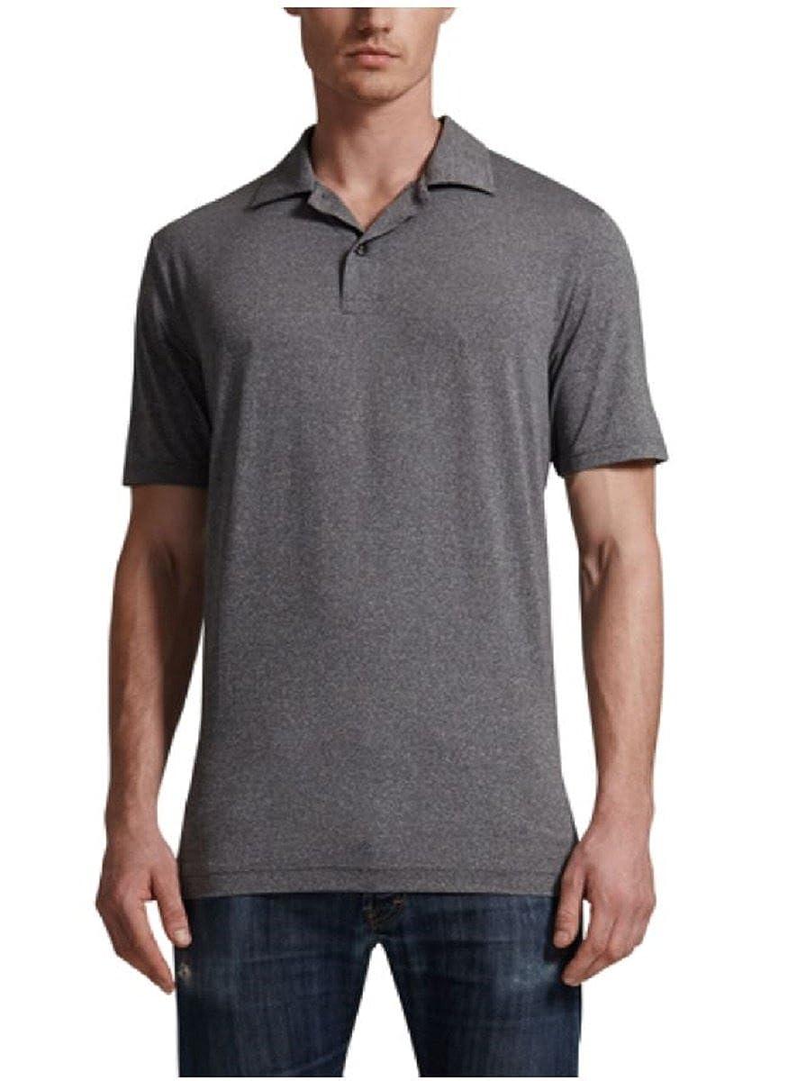 32 Degrees Cool Mens Short Sleeve Polo Shirt X Large Heather Dark