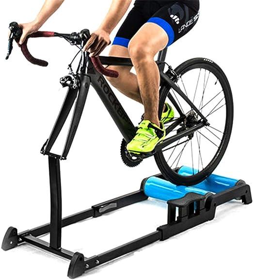 Rodillos de bicicleta retráctiles para interiores: entrenador de ...