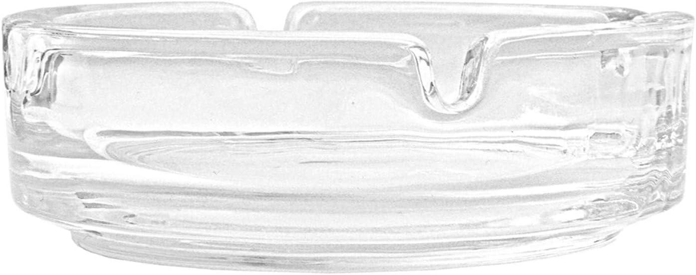 Cendrier en verre transparent 1