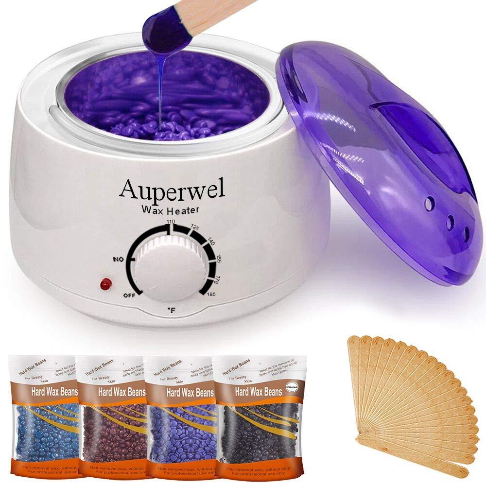 Amazon Auperwel Waxing Kit Hair Removal Bikini Body Facial