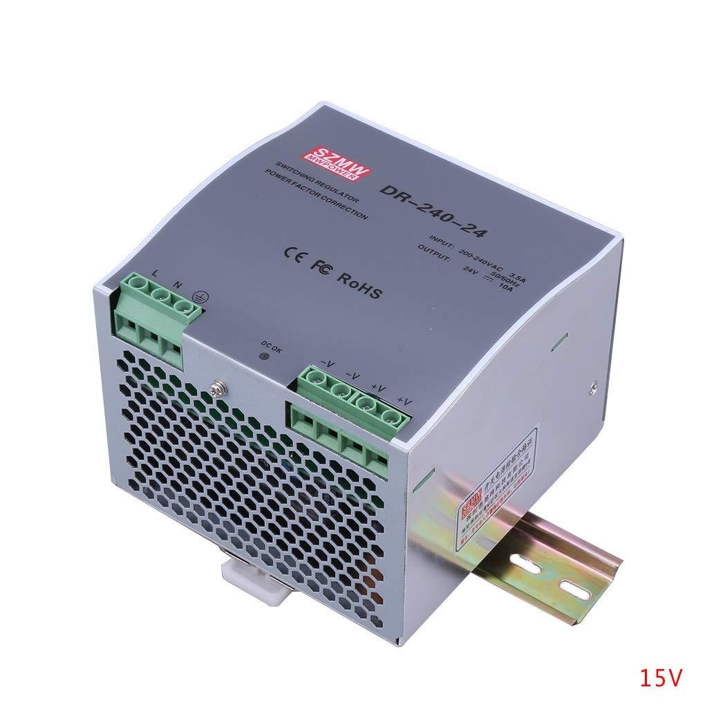 Beaums DR-240 120W de Salida única de 12V 24V 48V Montaje en Carril DIN Industrial Fuente de alimentación conmutada Proveedor