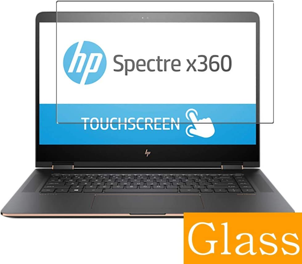 """Synvy Tempered Glass Screen Protector for HP Spectre x360 15-bl000 / bl012dx / bl112dx / bl152nr / bl000na / bl075nr / bl000ng / bl000nf / bl000no / bl000nl / bl000ur 15.6"""" Visible Area"""