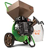 Tazz K32 Chipper Shredder - 212cc 4-Cycle Engine, CARB Compliant