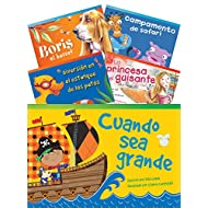 Teacher Created Materials - Classroom Library Collections: Literary Text Readers (Spanish) Set 1 - 10 Book Set - Grade 1 - Guided Reading Level A - I