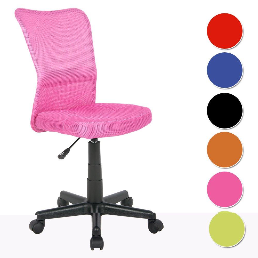 SixBros Chaise de bureau rose H298F1412 Amazonfr Cuisine