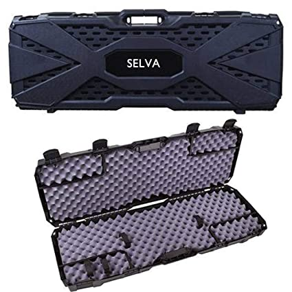 Amazon com : Selva Hard Gun Case Outdoor Tactical AR Scoped