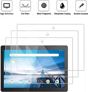 3 Pack Matte Anti-Glare Screen Protector for Lenovo Tab M10 / Smart Tab M10 (10.1 Inch), Anti Glare and Anti Fingerprint (Matte) Shield