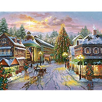 Springbok Seasonal Delights Christmas Eve 1000 Pc Jigsaw Puzzle By Seasonal Delight