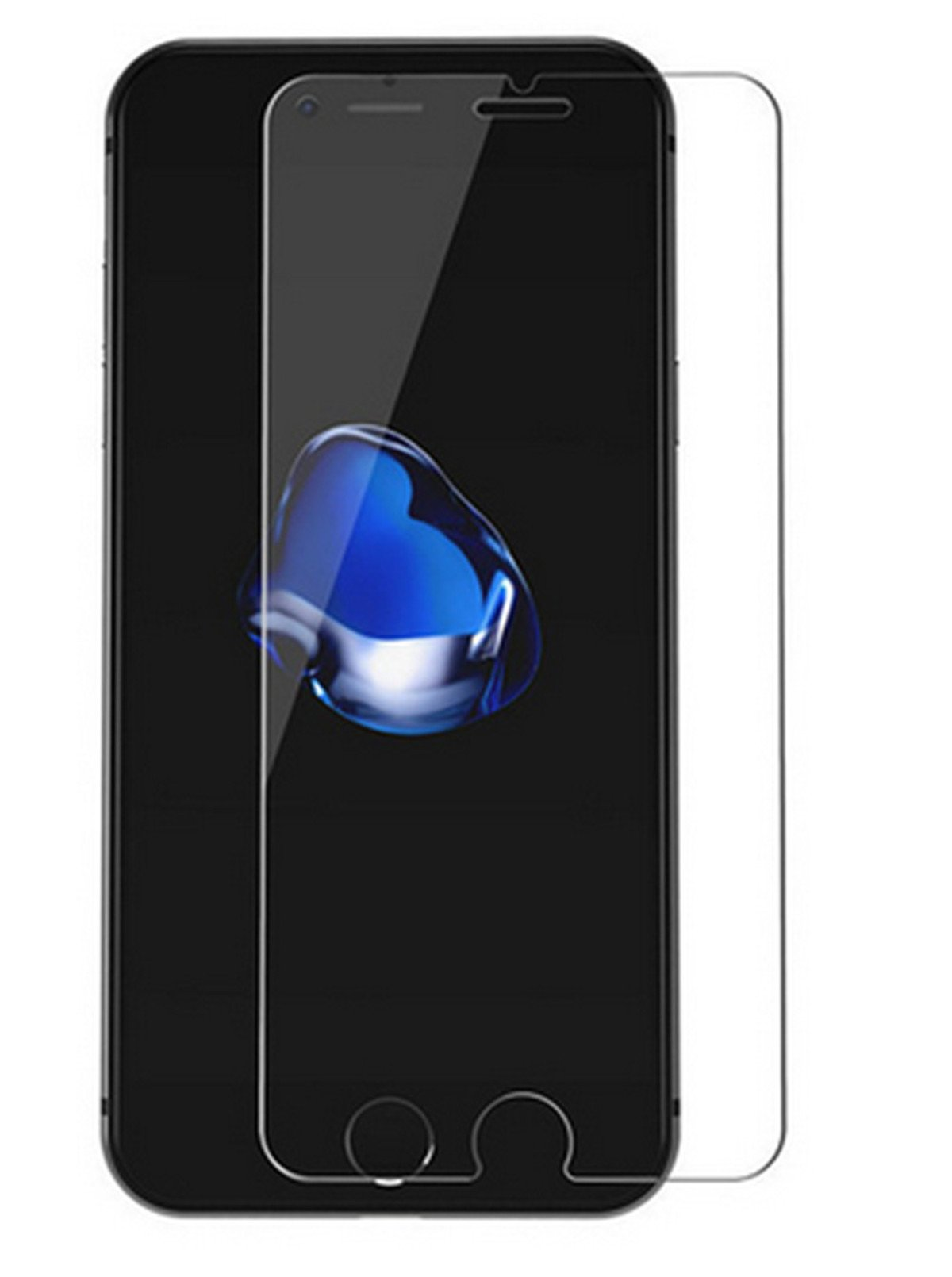 [2-PACK] For iPhone 7 Plus/ iPhone 8 Plus 5.5 Inch Tempered Glass Screen Protector [Anti fingerprint][Anti shock] Screen Protector Tempered Glass by Abtory (Image #3)
