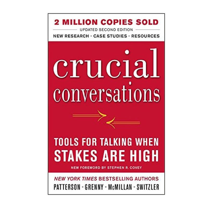 Image result for Crucial Conversations