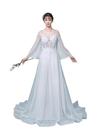 dfeebf4b509c0 ドレス カクテルドレス ロングドレス 袖あり ドレス ロング 演奏会 袖 二次会 服 レディース ドレス
