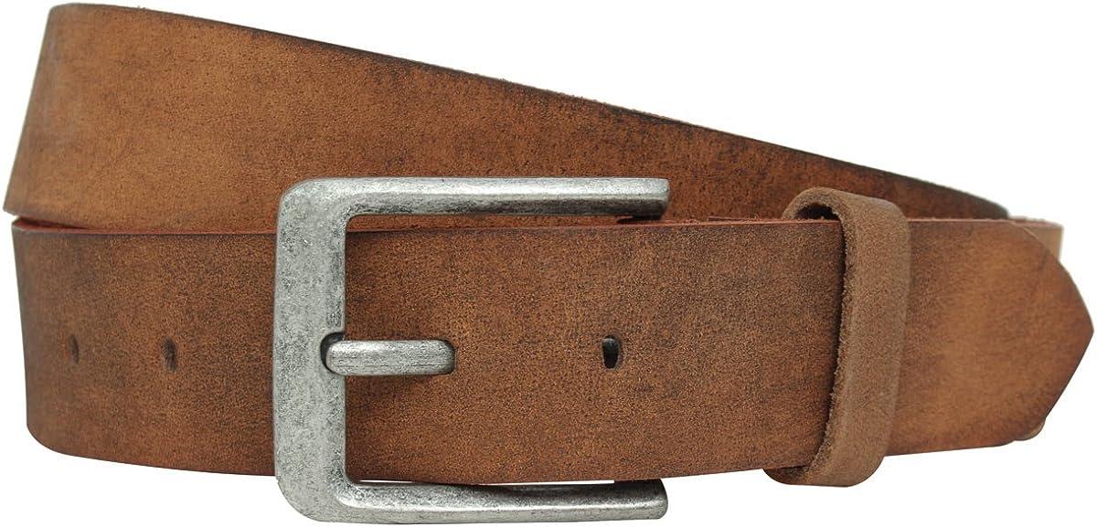 Gusti Leder Lane - Cinturón de piel para mujer, color marrón