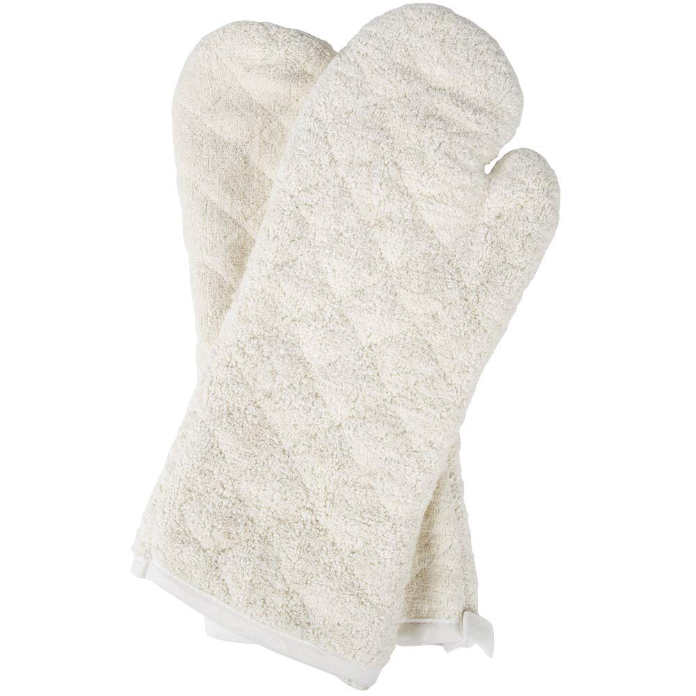 TableTop King 17'' Terry Oven Mitts - 2/Pack by TableTop King