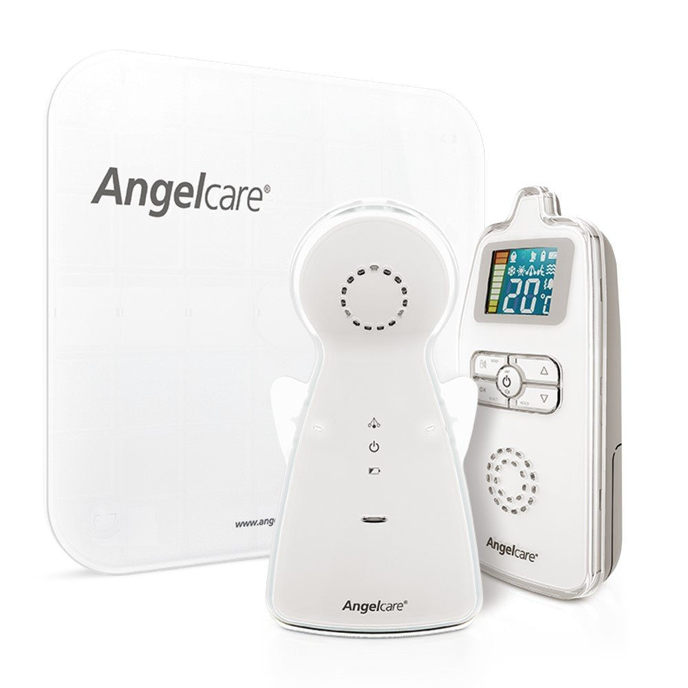 Angelcare Baby Movement and Sound Monitor, White A0403-CA0-A1005