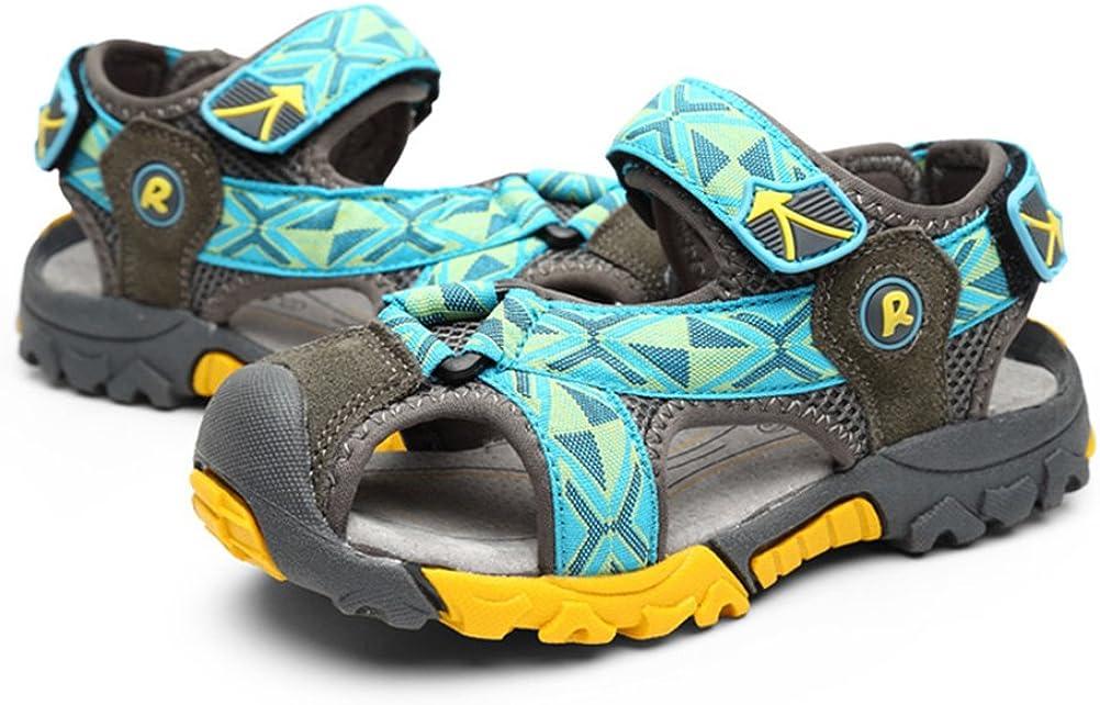 Toddler//Little Kid//Big Kid KKIDSS Boys Girls Sport Water Sandals Summer Closed-Toe Athletic Kids Shoes
