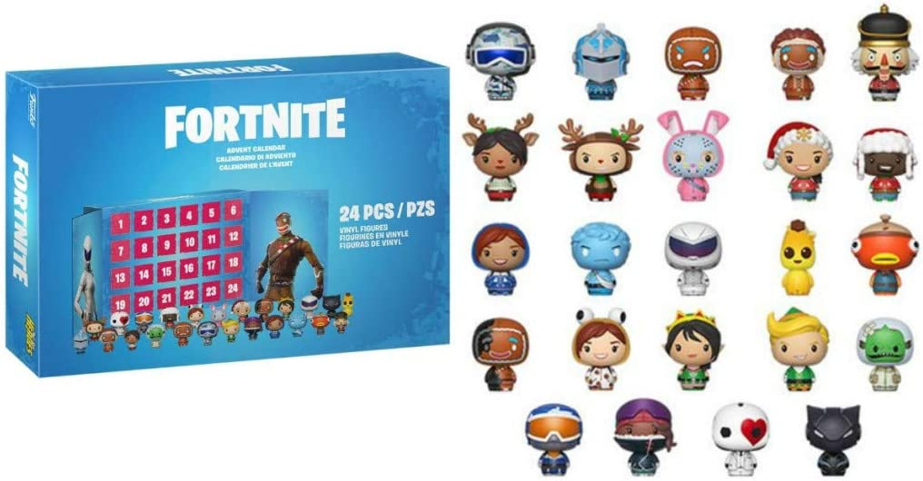Amazon.com: Funko Advent Calendar: Fortnite: Toys & Games