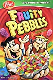 Post Fruity Pebbles Cereal, 11-Ounce Boxes