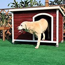 Petsfit 115cm X 78cm X 81cm Inches Dog House, Dog House Outdoor
