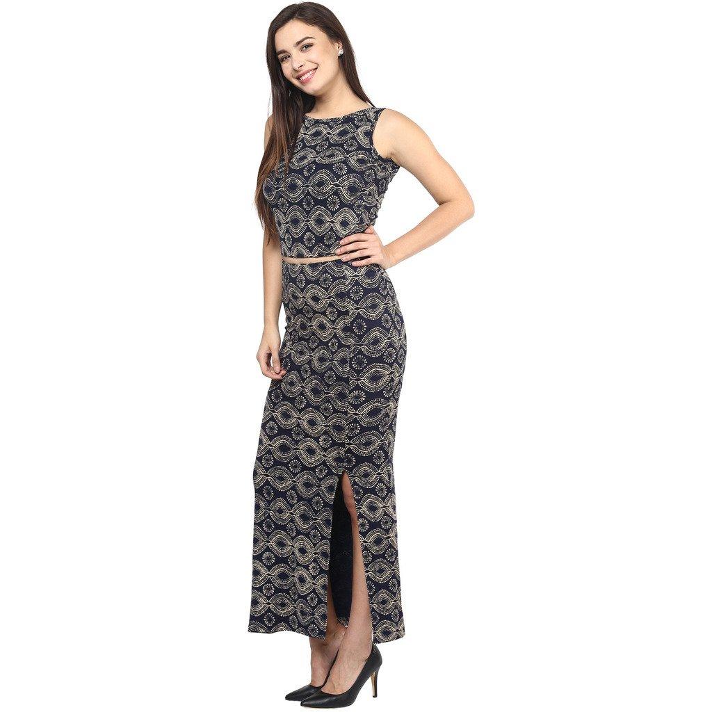 02b8e3cba4f Long Skirt And Crop Top On Amazon