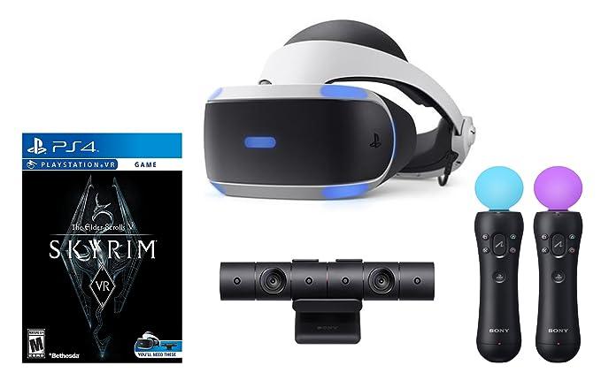 Sony Playstation VR The Elder Scrolls V: Skyrim VR Bundle: Sony: Amazon.es: Electrónica