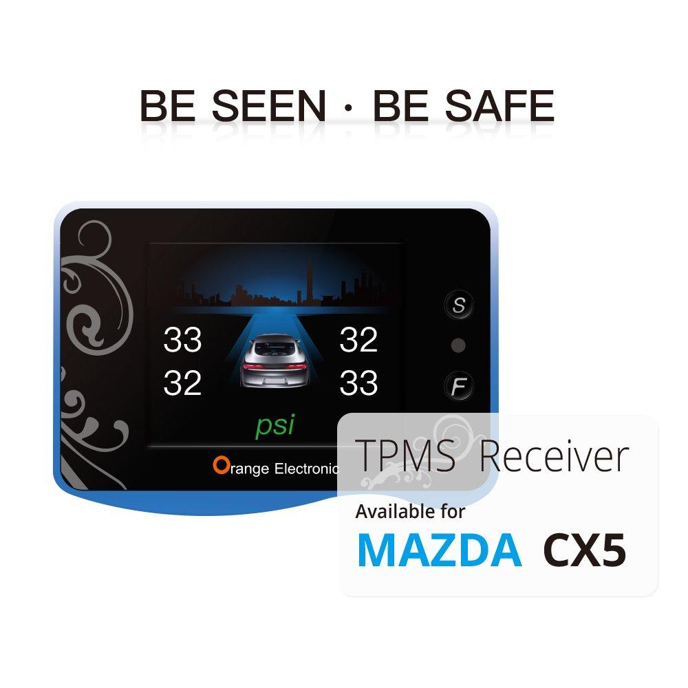 Orange Electronic TPMS Mazda 2017,2018 CX-5