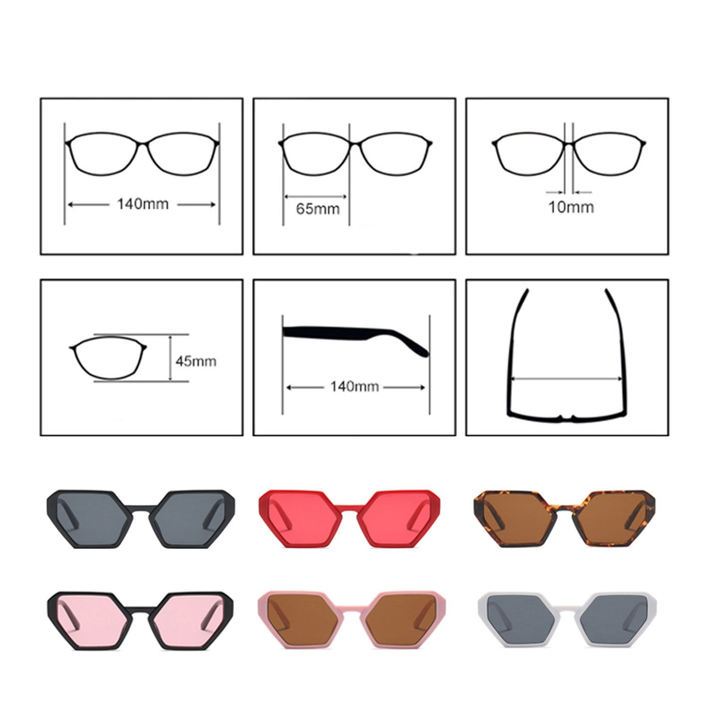 Amazon.com: 2018 Trendy Sunglasses Women Brand Designer Pink ...