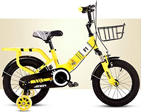 Bxiao Bicicleta Plegable para niños, niño pequeño y niña ...