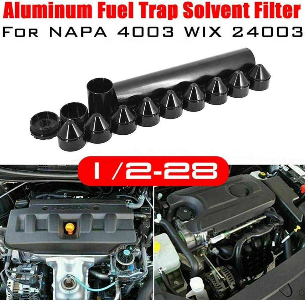 1//2-28 Oder 5//8-24Aluminium Kraftstofffalle L/ösungsmittelfilter F/ür NAPA 4003 24003 10IN Sieb Hook.s 13 ST/ÜCKE Kraftstofffilter Nur F/ür Autos