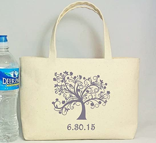 Rustic Wedding Welcome Bag Tree Of Life Beach Favor Canvas
