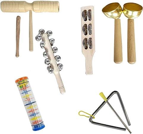 Orff Cymbals - Instrumento musical de educación temprana con cascabel de mano