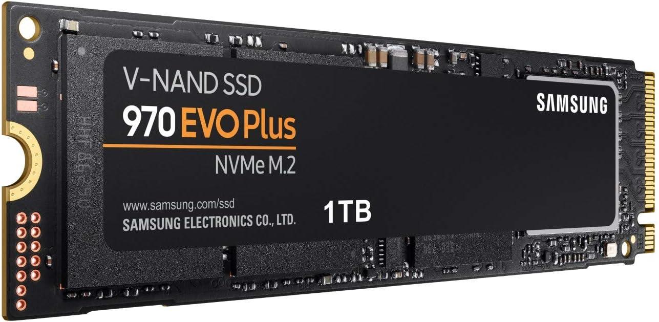 Samsung 970 Evo Plus, Unidad de Estado Sólido M.2 1000GB V-NAND ...