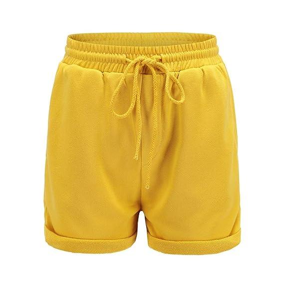 0cf53b91a7c0 TWIFER Hot Pants Lose Sports Shorts Damen Strand Mädchen hohe Taille kurze  Hose