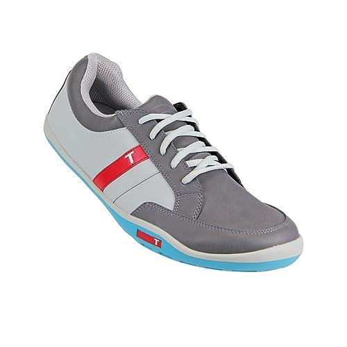 6740e87b6e4a5 Amazon.com: TRUE linkswear Men's True Phx Golf Sneakers,Gray,8.5 M ...