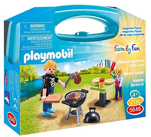 Backyard Barbecue (PLAYMOBIL Backyard Barbecue Carry Case)