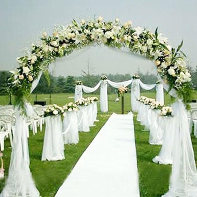 Rollo de organza de 10 m, tela de gasa, funda para silla o camino de mesa, para decoración de bodas{