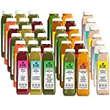Raw Generation 6-Day Skinny Cleanse System – Buy 5 Days Get 1 Free Day / Includes Raw Juices, Soups, & Nut Milks / 36 Bottles