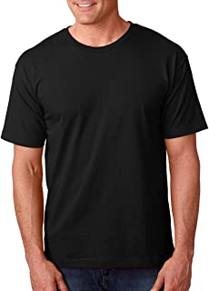 product image for Bayside Adult Short-Sleeve Tee 5040 - Black_XL