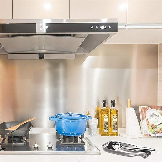 Enerdock - Soporte para cucharas de cocina (acero inoxidable, 304): Amazon.es: Hogar