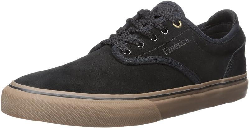Emerica Wino G6 Sneakers Skateboardschuhe Herren Schwarz/Kautschuk (Gum)