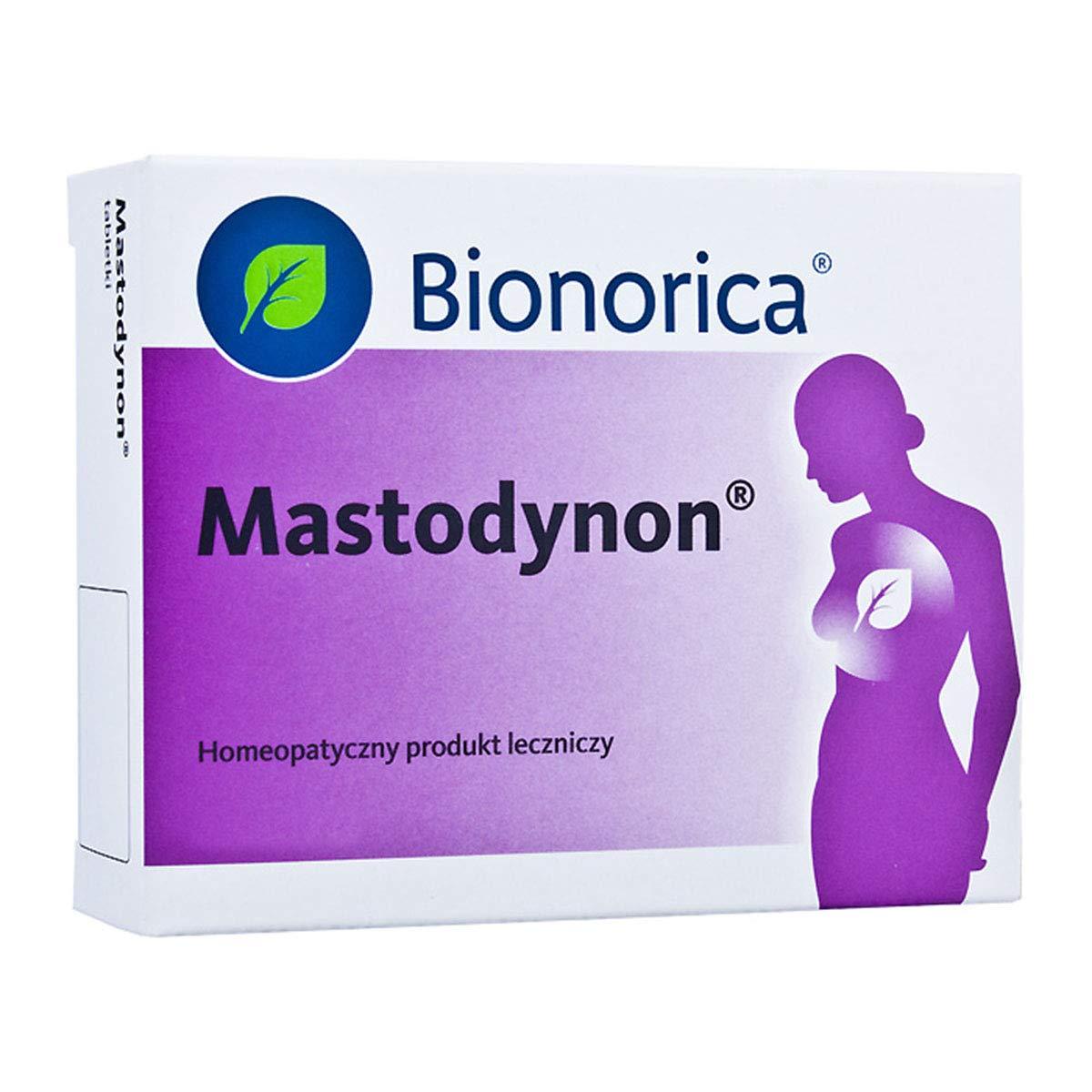 MASTODYNON 60 Tabs - Breast Pain, Mastitis, Menstrual Cycle Changes,PMS, Infertility