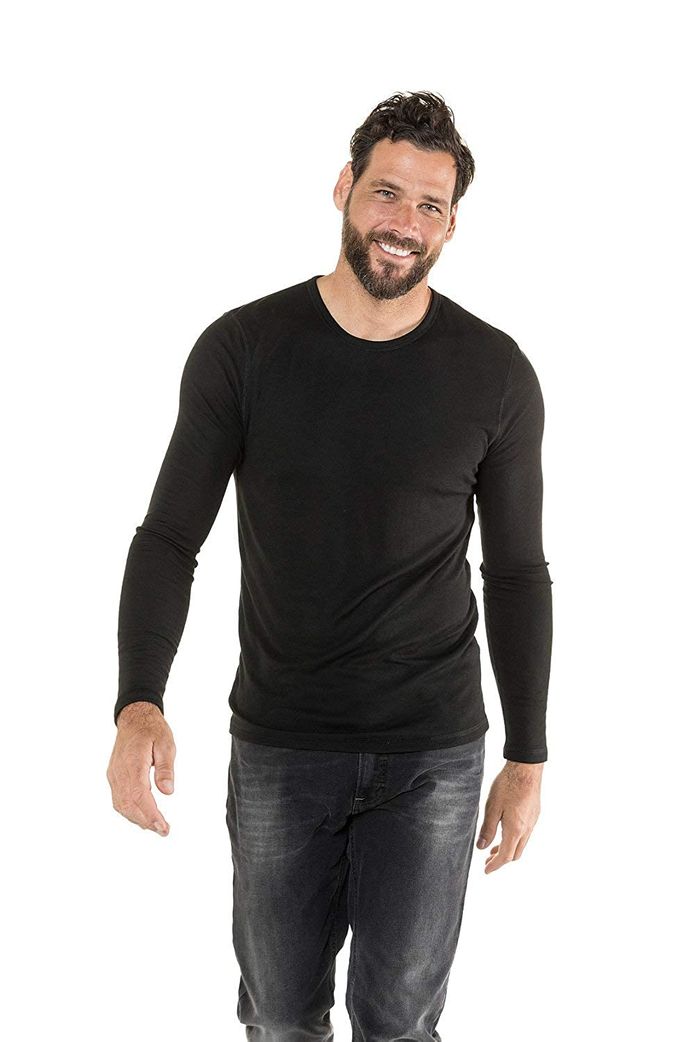 JP 1880 Mens Big /& Tall Functional Active Long Sleeve Tee 720955