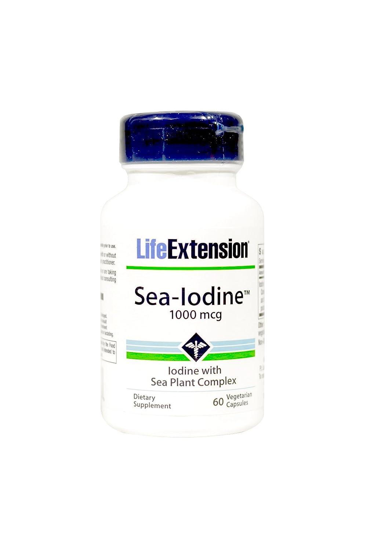 海外直送品 Life Extension Sea-Iodine, 60 vcaps 1000 mcg B002NLUBA8