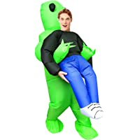 Little Lucky Inflatable Alien Costume 100% Polyester Super Funny Halloween Costume