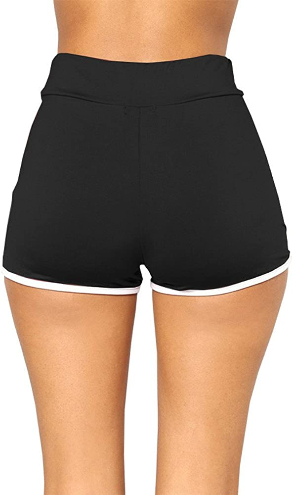 Shorts Womens Athletic Glorxha Soft and Comfy Activewear Lounge with Pockets and Drawstring for Women