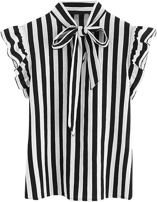 FuweiEncore Moda para Mujer Blusas Blusas para Verano Blusas y ...