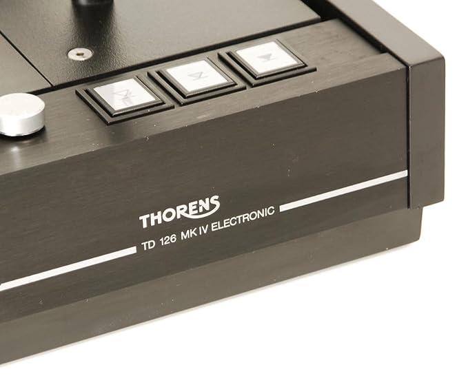 Thorens TD de 126 MK IV Tocadiscos: Amazon.es: Electrónica
