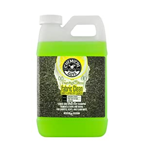 Chemical Guys CWS20364 Foaming Citrus Fabric Clean Carpet & Upholstery Shampoo oz-1/2 Gall, 64. Fluid_Ounces