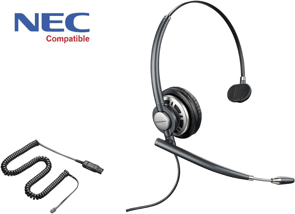 NEC互換Plantronics EncorePro 710ヘッドセットバンドル – NEC Elite   DtermシリーズI   Dterm IP   Dterm Elite  シリーズE   DSX   Aspire   NEC Iシリーズ  DtermシリーズIII   UNIVERGE   dt300   dt700